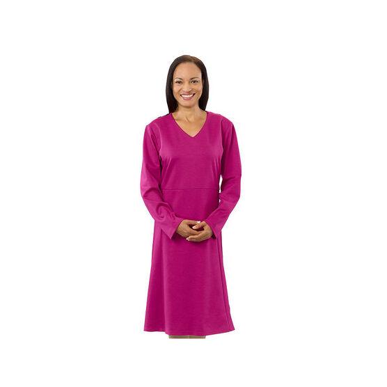 Silvert's Women's Open Back V-Neck Dress - Small - XL