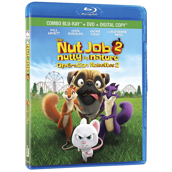 The Nut Job 2: Nutty by Nature - Blu-ray