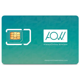 AOW Global Data SIM Card - 05002