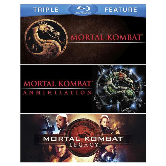 Mortal Kombat Triple Feature - Blu-ray