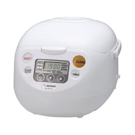 Zojirushi Rice Cooker - White - 5.5 cups - NS-WAC10