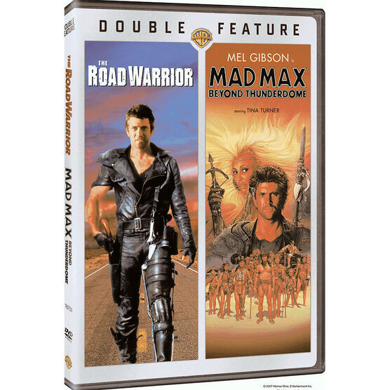 Double Feature: The Road Warrior/Mad Max Beyond Thunderdome - DVD
