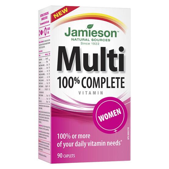 Jamieson Multi 100% Complete Vitamin - Women - 90's