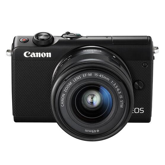 Canon EOS M100 EF-M 15-45mm IS STM Kit - Black - 2209C011