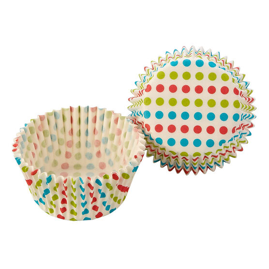 Cupcake Paper Cups - Dots - 50's