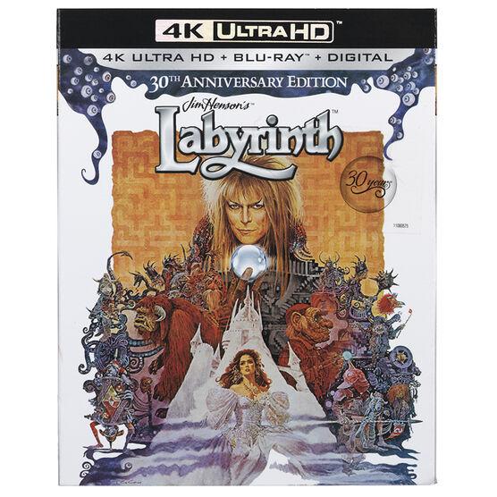 Labyrinth: 30th Anniversary Edition - 4K UHD Blu-ray