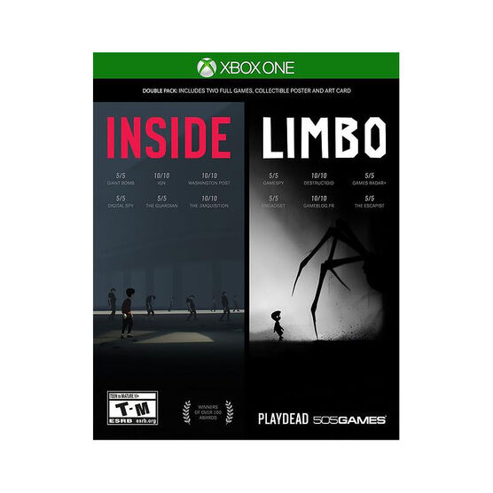 XBox One Inside and Limbo 2 Pack