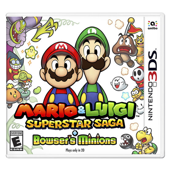 3DS Mario and Luigi Superstar Saga + Bowsers Minions