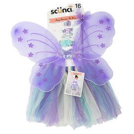 Scunci Girl Princess Dress Up Set - Flutter