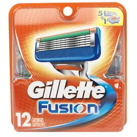 Gillette Fusion Cartridges - 12's