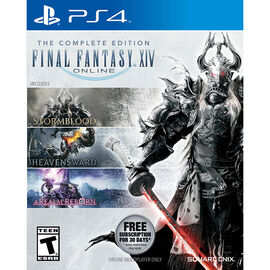 FINAL FANTASY XIV 4.0 ONLINE COMPLETE | PS4