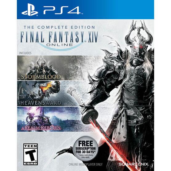 FINAL FANTASY XIV 4.0 ONLINE COMPLETE   PS4