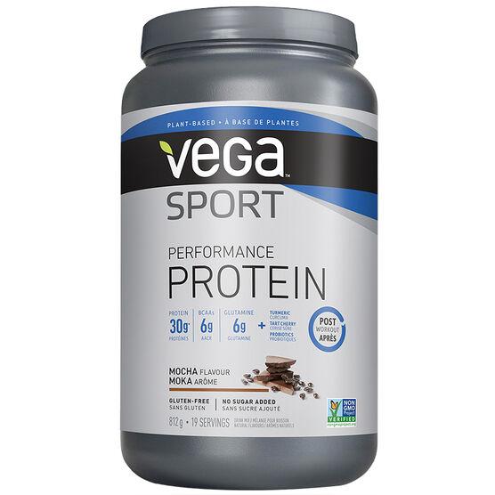 Vega Sport Performance Protein Post Workout - Mocha - 812g
