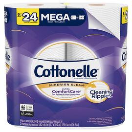 Cottonelle Ultra ComfortCare Mega Rolls - 6's