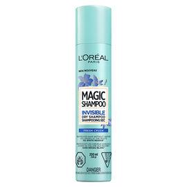 L'Oreal Magic Invisible Dry Shampoo - Fresh Crush - 200ml