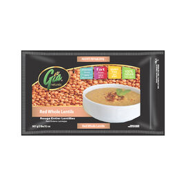 Gia Naturals -  Red Whole Lentils - 907g