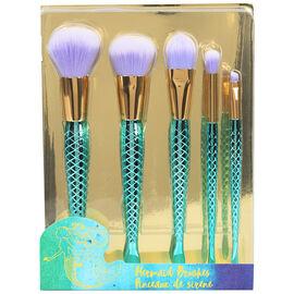 Dreams + Kisses Makeup Brush Set - Mermaid - 5 piece