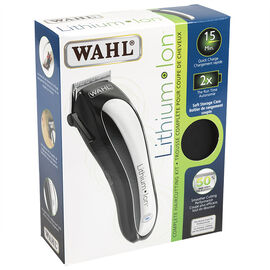 Wahl Lithium Ion Hair Clipper Set - Silver - 3197