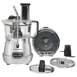Hamilton Beach Stack & Snap Food Processor - Stainless Steel - 70820