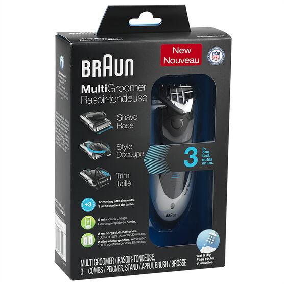 Braun MultiGroomer - Black/Silver - MG5090