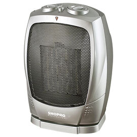 Shopro Oscillating Ceramic Heater - Silver - H005122