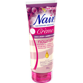 Nair Hair Remover Creme Nourish - Legs & Body - 224g
