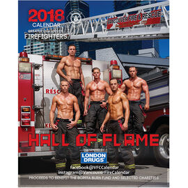 Vancouver Firefighter Calender 2018