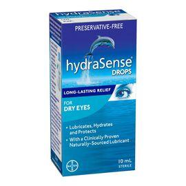 hydraSense Drops for Dry Eyes - 10ml