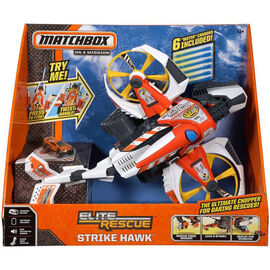 Matchbox - Elite Rescue Strike Hawk