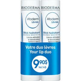 Bioderma Atoderm Moisturizing Lip Stick Duo - 2s