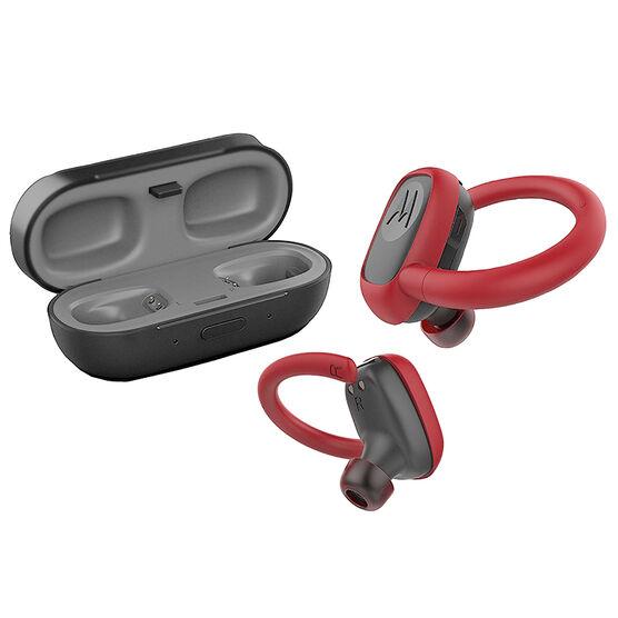 Motorola Stream Sport Wireless Bluetooth Headphones - Black/Red - SH025RD