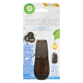 Air Wick Essential Mist Diffuser Fragrance Refill - Fresh Water Breeze - 20ml