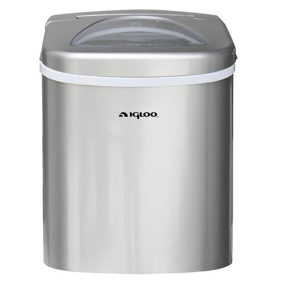 Igloo Compact Ice Maker - Silver - ICE108
