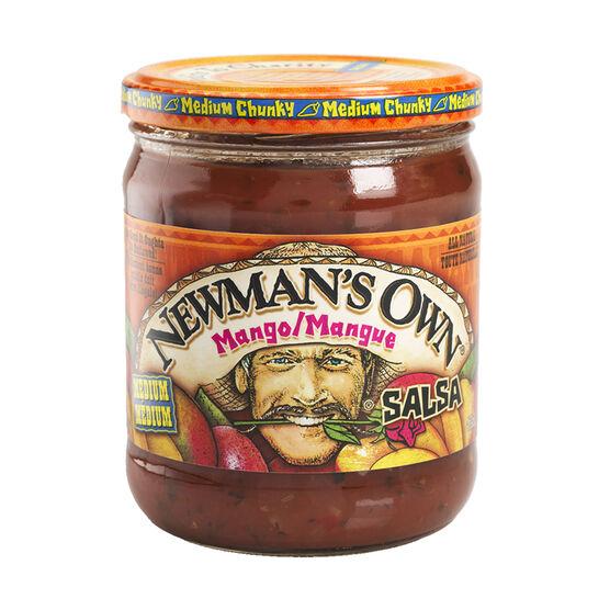 Newman's Own Salsa - Mango - 415ml