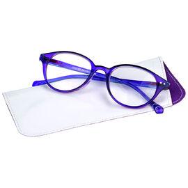Foster Grant Hallie Women's Reading Glasses - Purple - 1.75