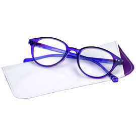Foster Grant Hallie Women's Reading Glasses - Purple - 2.00