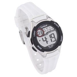 Cardinal Ladies Sport Watch - White/Black - 3501