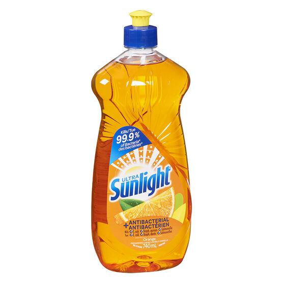 Sunlight Antibacterial Dishwashing Liquid - 740ml