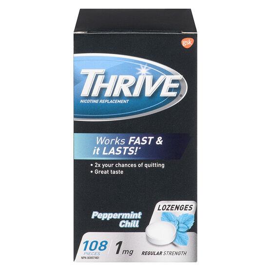 Thrive Nicotine Lozenges 1mg  - Mint - 108 lozenges