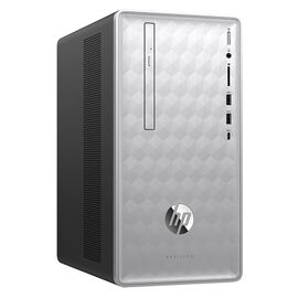 HP Pavilion 590-p0029 Desktop Computer - Silver - 3LA44AA#ABL