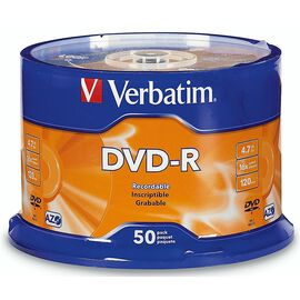 Verbatim DVD-R 4.7GB 16X - 50 pack - 95101