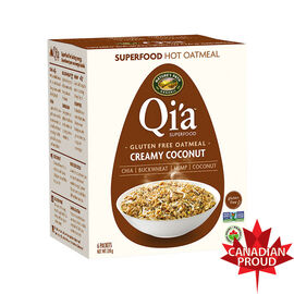 Nature Path Qi'A Gluten Free Oatmeal - Creamy Coconut- 6 Packets