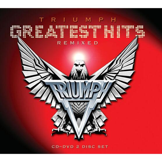 Triumph - Greatest Hits Remixed - CD + DVD