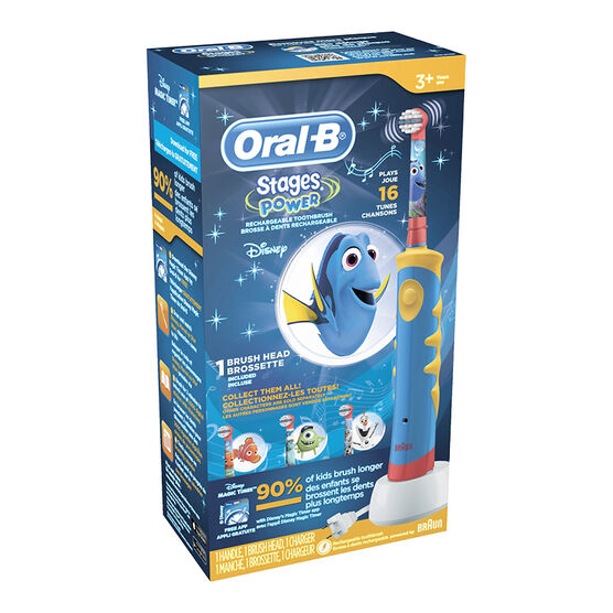 Oral-B Stages Power Rechargeable Toothbrush - Assorted