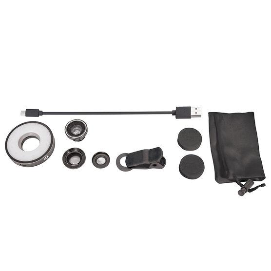 iQ 4-in-1 Universal Lens Kit - Black - IQLC41