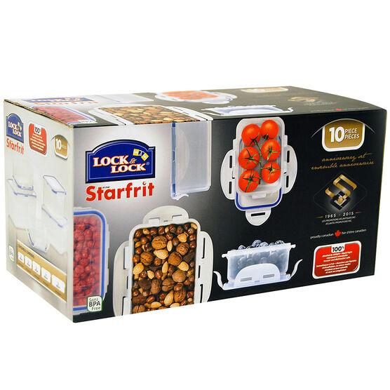Starfrit Lock & Lock Lunch Set - 10 piece