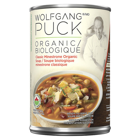 Wolfgang Puck's Organic Classic Minestrone Soup - 398ml