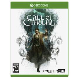 Xbox One Call of Cthulu