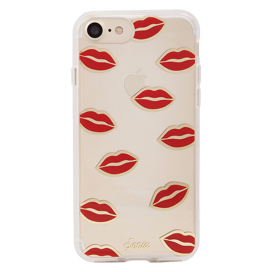 Sonix Clear Coat for iPhone 7 - Pucker Up - SX27000200121