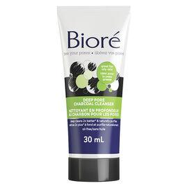 Biore Deep Pore Charcoal Cleanser - 30ml